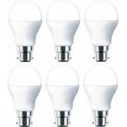 B22 9w LED bulb full Brightness (pack of 6 pieces)