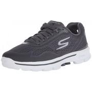 Skechers Men's Go Walk3- Reaction Charcoal Nordic Walking Shoes - 10 UK/India (45 EU) (11 US)