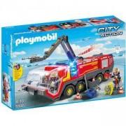 Комплект Плеймобил 5337 - Пожарна на летището, Playmobil, 2900051