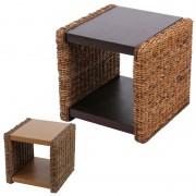Beistelltisch Nachttisch Sitzhocker Lucca Rattan ~ Variantenangebot