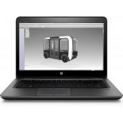 HP ZBook 14u G4 2.7GHz i7-7500U 14'' 1920 x 1080Pixels Touchscreen Zwart Mobiel werkstation