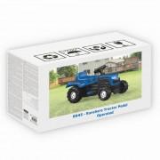 Tractor cu pedale albastru Dolu