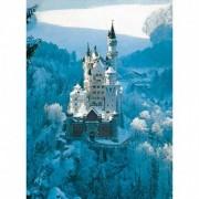Puzzle 14Ani+ Castelul neuschwanstein Iarna, 1500 Piese