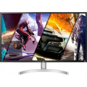 "LG - 32"" UHD (3840 x 2160) HDR Monitor with AMD FreeSync - White"