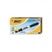 Great Erase Grip Fine Point Dry Erase Marker, Black, Dozen