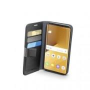 Калъф за Samsung Galaxy S8 Plus, отваряем, еко кожа, Cellular Line Book Agenda, сив
