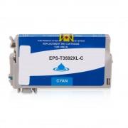 Epson Cartouche d'encre pour Epson C13T35924010 / 35XL cyan compatible (de marque ASC)