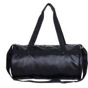 Dee Mannequin Trendy Black Leather Rite Gym Bag
