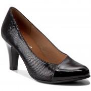Обувки CAPRICE - 9-22408-29 Black Pat. Comb 052
