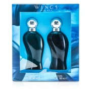 Wings Coffret: Eau De Toilette Spray 100ml/3.4oz + After Shave 100ml/3.4oz 2pcs Wings Casetă: Apă De Toaletă Spray 100ml/3.4oz + Loțiune După Bărbierit 100ml/3.4oz