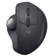 Мишка Logitech MX Ergo, оптична (440 dpi), безжична, Bluetooth, черна, Trackball
