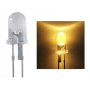 NTR 62248 5mm LED meleg fehér 50mA 15fok