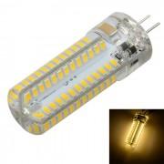 Bulbo de lampara de cristal de Marsing G4 6W LED de luz blanca caliente 600LM 100-SMD
