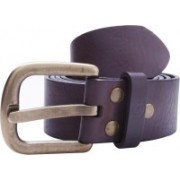 Guess Men Party, Formal, Casual Brown Genuine Leather Belt