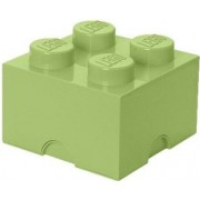 Cutie depozitare LEGO 2X2 verde galbui 40031748