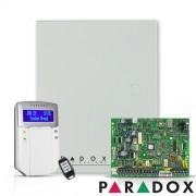 CENTRALA ALARMA ANTIEFRACTIE WIRELESS PARADOX MAGELLAN MG 5000+K32LCD+REM15