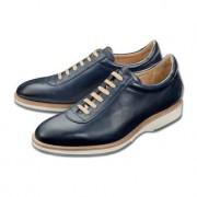 Cordwainer luxe-sneakers, 43 - blauw