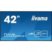IIYAMA 42 SUPER SLIM, 1920X1080, IPS PANEL, 6,5MM BEZEL