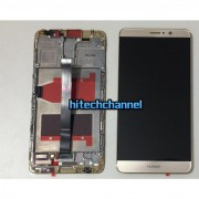 touch screen lcd frame display gold huawei mate s crr-l09 crr-ul00 crr-ul20 +biadesivo