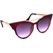 Stacle Cat-eye Sunglasses(Grey)