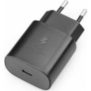 Incarcator Retea Original Samsung EP-TA800EBE Incarcare Ultra Rapida Conector Type-C Negru