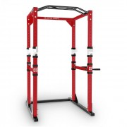 Capital Sports Tremendour Putere alb Rack Homegym oțel roșu (FIT20-Tremendour)