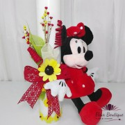 "Lumanare botez ""Minnie Mouse"""