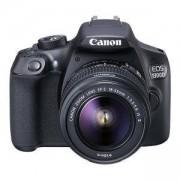 Огледално-рефлексен фотоапарат Canon EOS 1300D + Обектив EF-S 18-55mm IS II + DSLR ENTRY Accessory Kit (SD8GB/BAG/LC) AC1160C005AA_AC0033X090