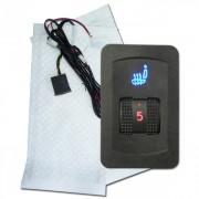 Karbonszálas Dual Ülésfűtés digitális hőmérséklet vezérlés I-11