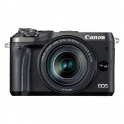 Canon EOS M6 systeemcamera Zwart + 18-150mm IS STM