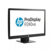 """Монитор HP ProDisplay P240va (N3H14AA), 23.8"""" (60.45 cm), VA панел, Full HD, 8ms, 5000000:1, 250 cd/m², DP, HDMI, VGA"""