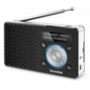 TechniSat DigitRadio 1 - DAB+ Radio - Schwarz/Silber