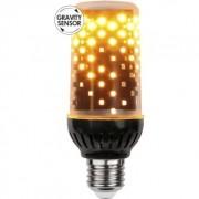 Star Trading Decoration Eldlampa LED E27 1800K 361-51-2 Replace: N/A