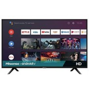 "Hisense 32H5500F Android TV Smart TV 32"", 720p, Built-in Wi-Fi, HDMI, 2020, Color Negro"