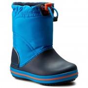 Cizme de zăpadă CROCS - Crocband Lodgepoint Boot K 203509 Ocean/Navy
