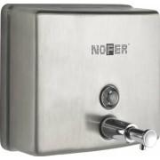 Nofer Дозатор жидкого мыла Nofer Inox 03004.S
