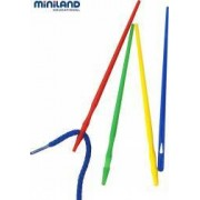 Set ace mari pentru insirat Miniland 100 buc