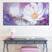 Tablou Canvas Floral Artistic CFB24 (Dimensiune LxH: 100x50cm)