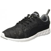Puma Men's Carson Runner Camo Mesh Idp Black, Steel Grey and White Running Shoes - 7 UK/India (40.5 EU)