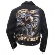 veste printemps / automne pour hommes - Shut Up And Ride - SPIRAL - T070M651