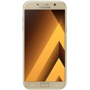 "Telefon Mobil Samsung Galaxy A7 (2017), Procesor Octa-Core 1.9GHz, Super AMOLED Capacitive touchscreen 5.7"", 3GB RAM, 32GB Flash, 16MP, 4G, Wi-Fi, Dual Sim, Android (Auriu) + Cartela SIM Orange PrePay, 6 euro credit, 6 GB internet 4G, 2,000 minute nationa"
