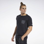 Reebok T-shirt à poche et motif Training Supply