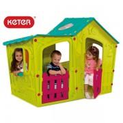 Пластмасова къща за игра Keter Magic Villa