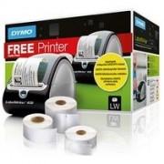 Dymo Pack 3 rollen etiketten LW + 1 etiketteertoestel LW 450 gratis