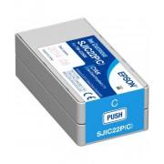 Касета с мастило Epson ColorWorks C3500, циан