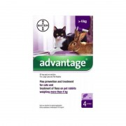 Esteve Advantage 80 Gatos 4 Pipetas (+ 4 Kg)