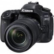 Canon Eos 80d + 18-135mm Is Usm - Man. Ita - 2 Anni Di Garanzia In Italia