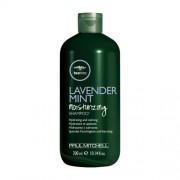 Paul Mitchell Sampon hidratant și calmant pentru părul uscat de păr Tea Tree (Lavender Mint Shampoo) 300 ml