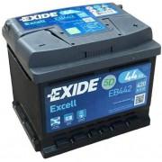 EXIDE Excell EB442 44Ah 420A autó akkumulátor jobb+ (+AJÁNDÉK!)