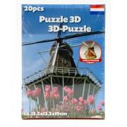 39.95 3D-pussel. välj ml. diff. sevärdheter Holland Windwill